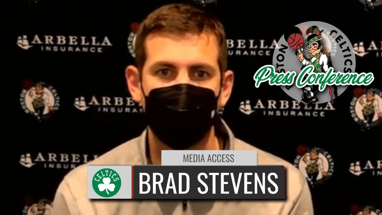 Brad Stevens Postgame Interview| Celtics vs Heat | CLNS Media